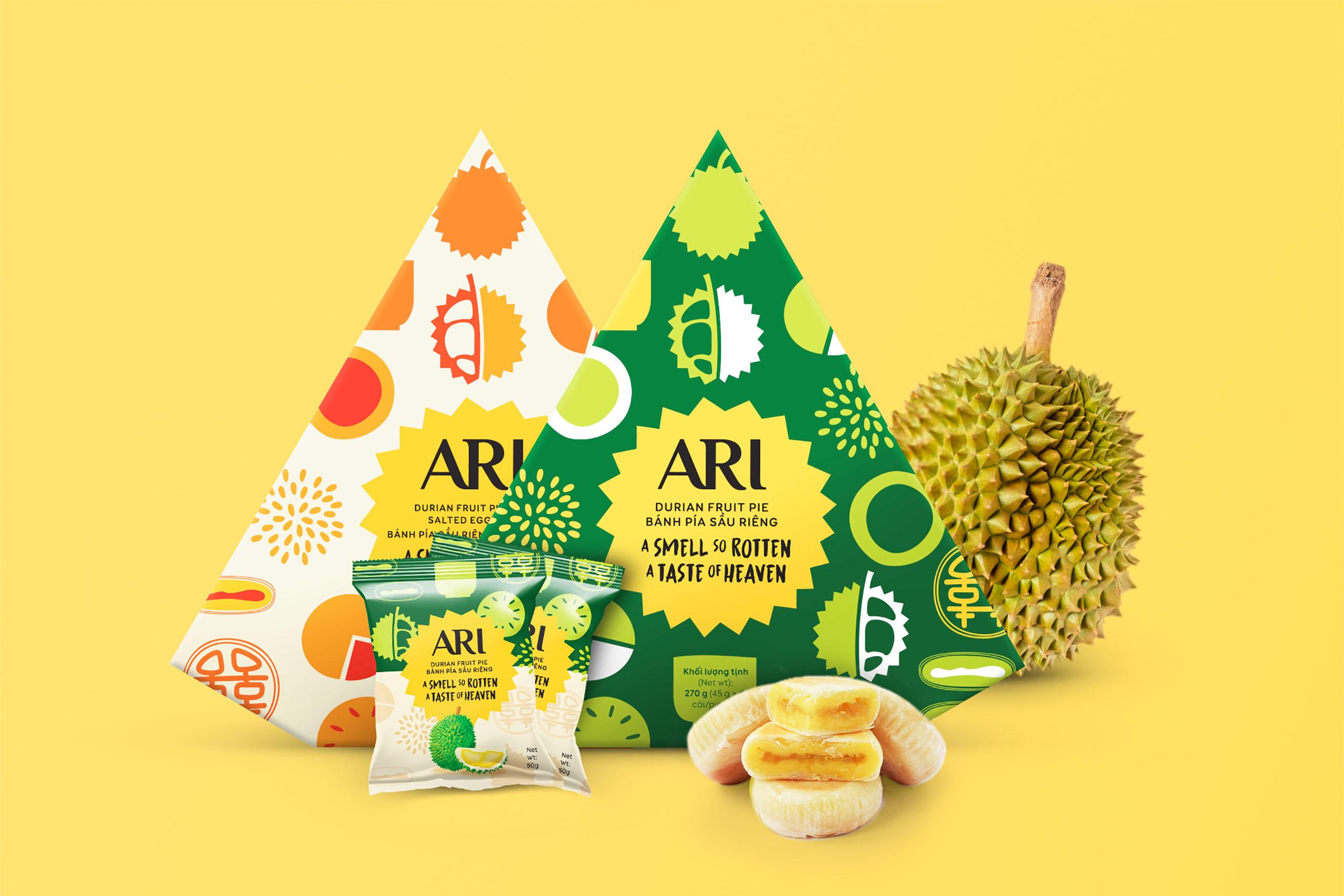 Ari Durian Fruit Pie