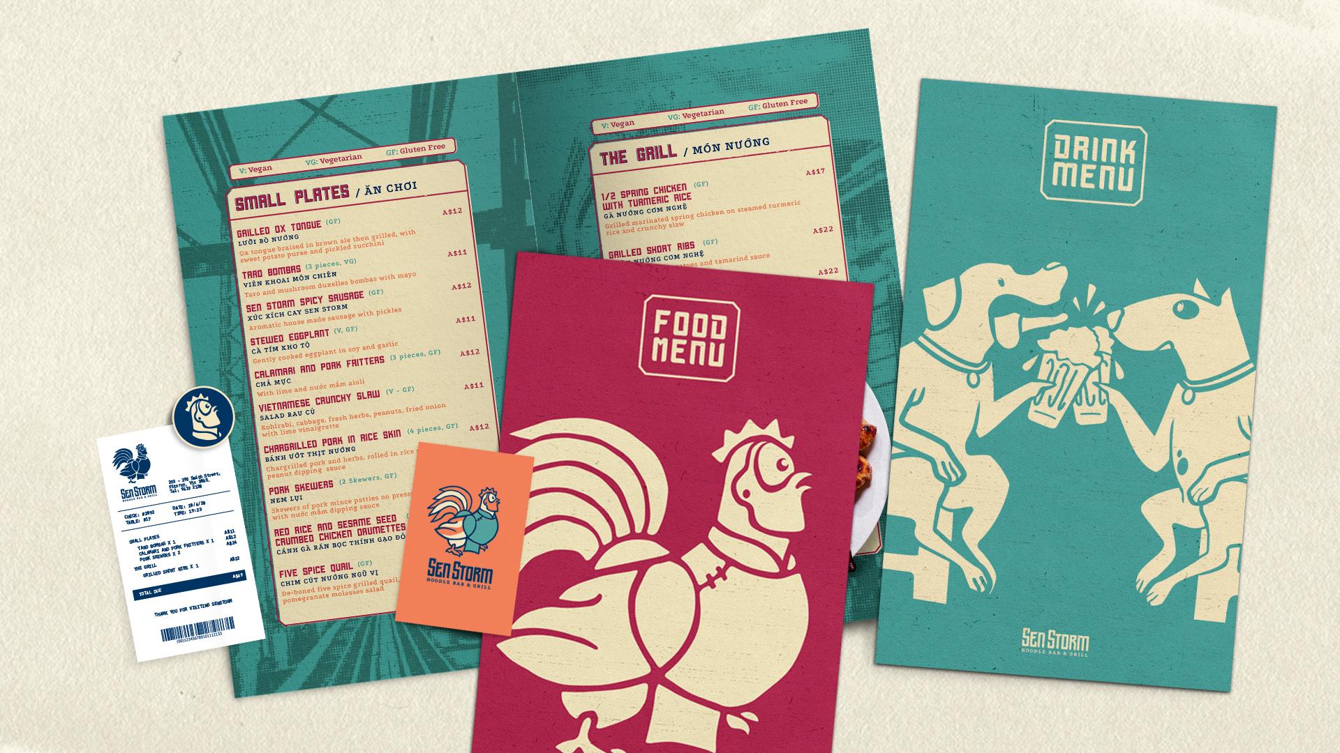 Close up menu 2
