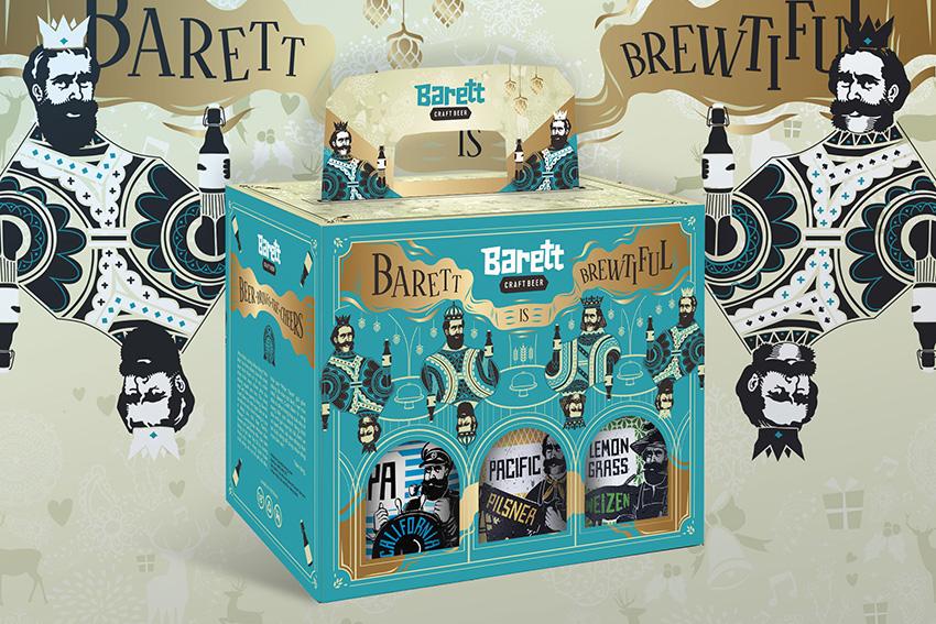 Barett Beer Tet Packaging