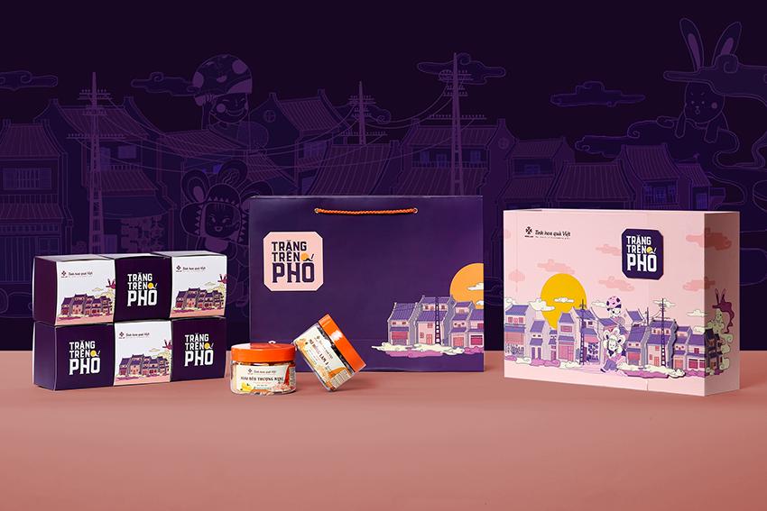 Hong Lam Mooncake Packaging 2020