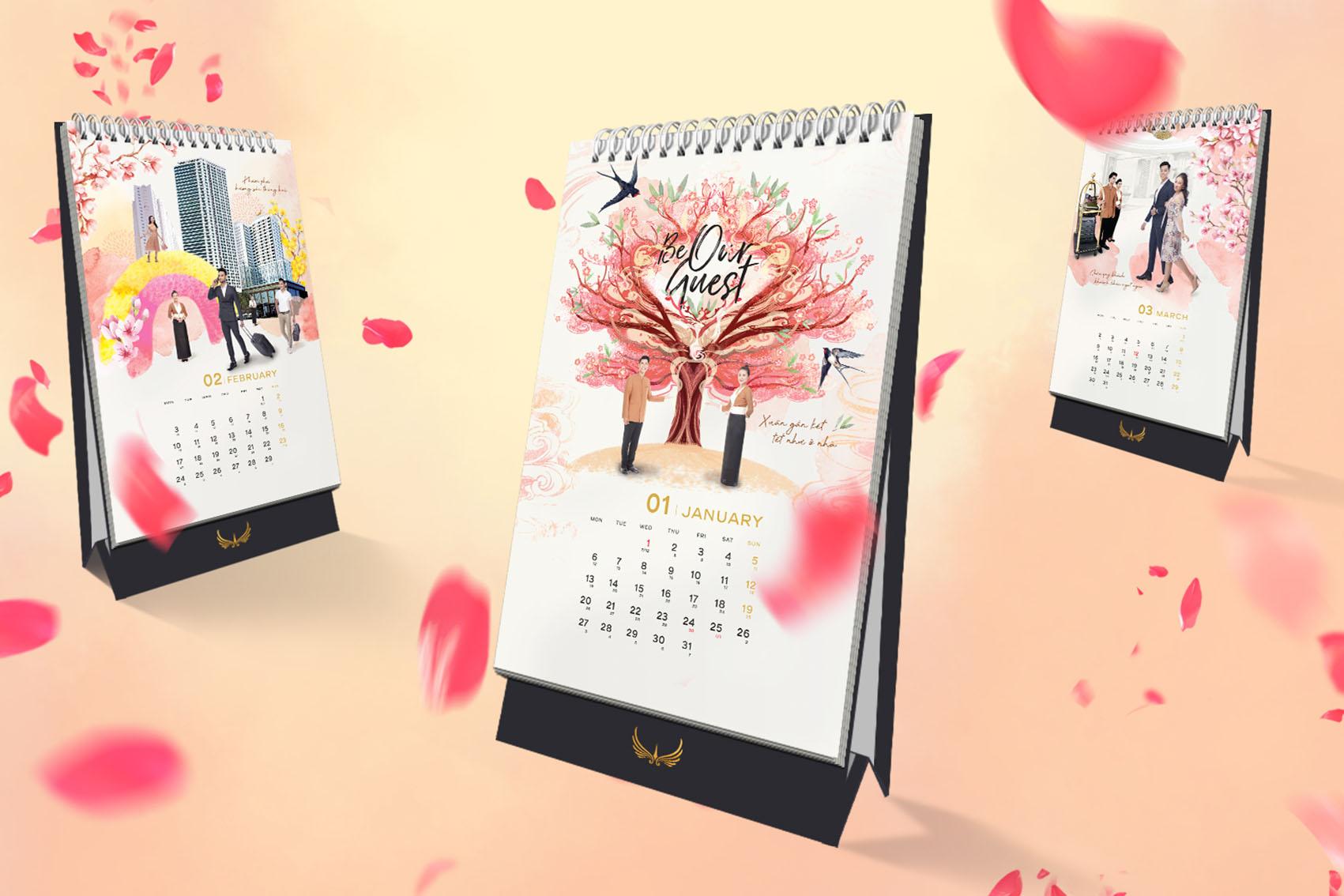 Muong Thanh Calendar 2020